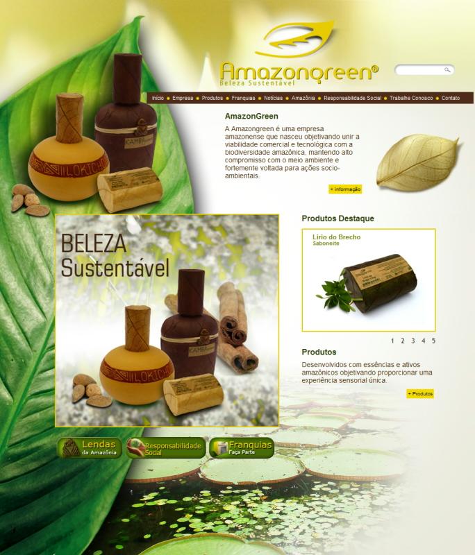 Amazongreen - Produtos Amazônicos