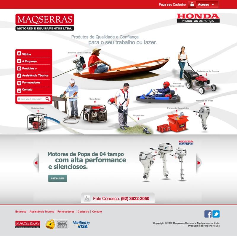 MAQSERRAS Motores e Equipamentos