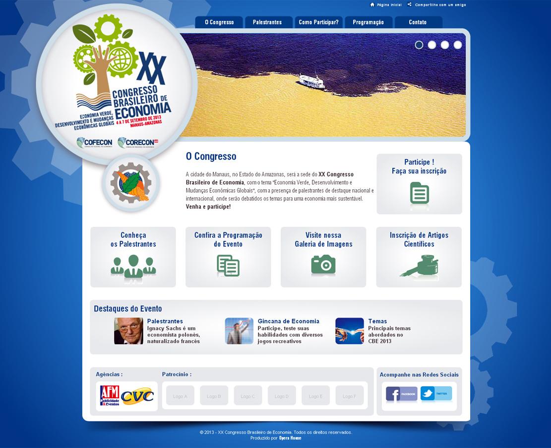 Congresso Brasileiro de Economia 2013