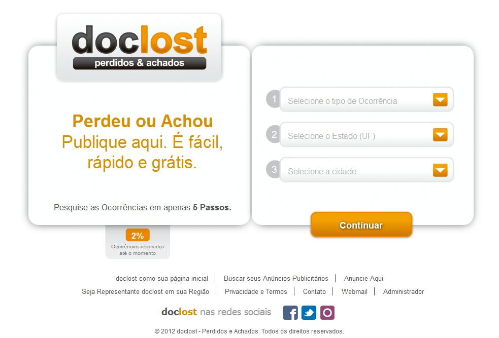 Doclost - perdidos e achados